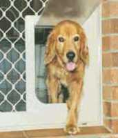 Large - Fitted to Security Screen Door